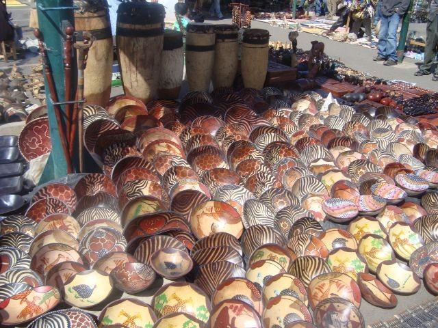 Market day in Zimbabwe.